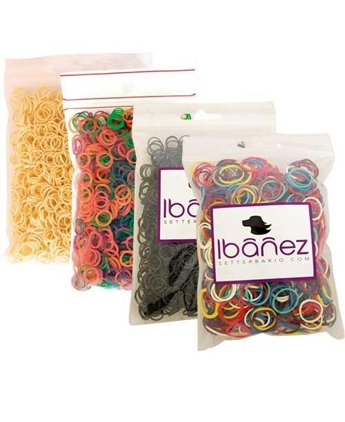 Latekso gumitės  Ibanez 10 mm, apie 1000 vnt (arba 100 pcs)