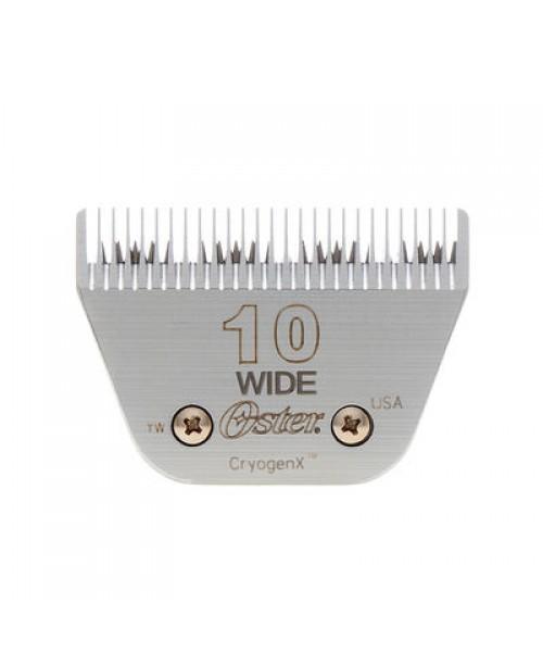 2.4 mm Oster® #10 WIDE kirpimo mašinėlės galvutė