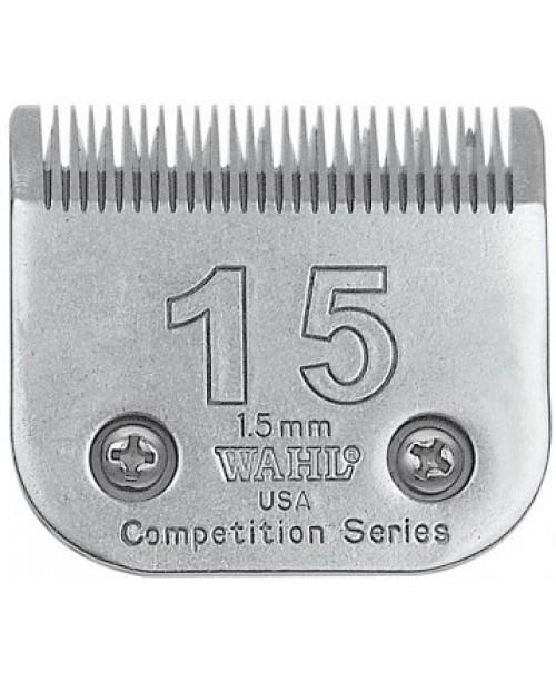 1.5 mm WAHL kirpimo mašinėlės galvutė #15