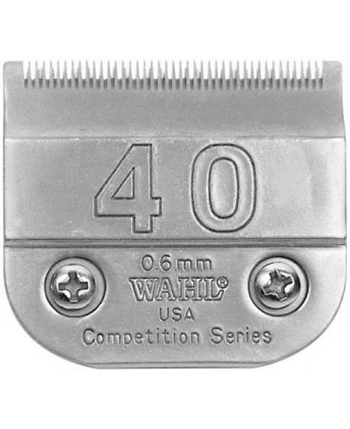 0.6 mm WAHL kirpimo mašinėlės galvutė #40